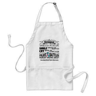 Hereditary Breast Cancer Strongest Among Us Standard Apron