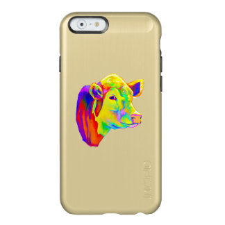 Hereford Cow in Colors Incipio Feather® Shine iPhone 6 Case