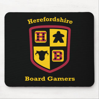 Herefordshire Board Gamers mouse mat