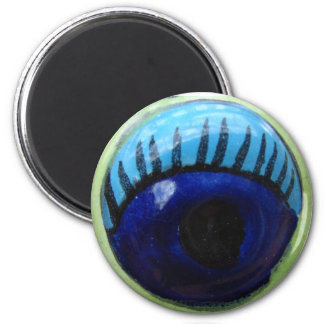 Here's lookin' at you! 6 cm round magnet