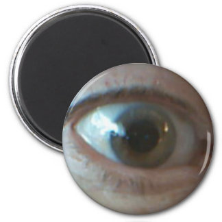 Here's Looking at you Kid, Round Magnet