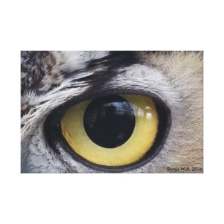 """Here's Looking at You,"" The Art of Steven Wolf Canvas Print"