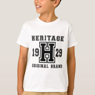 HERITAGE 1929 ORIGINAL BRAND BIRTHDAY DESIGNS T-Shirt