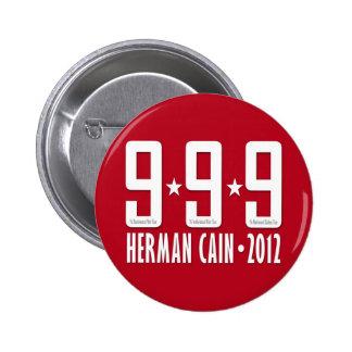 Herman Cain 2012 6 Cm Round Badge