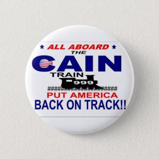 Herman Cain 6 Cm Round Badge