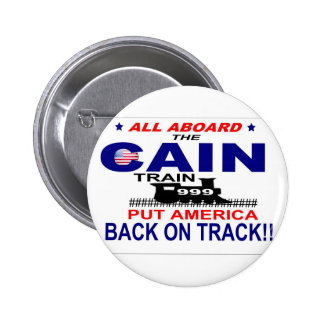 Herman Cain 6 Cm Round Badge
