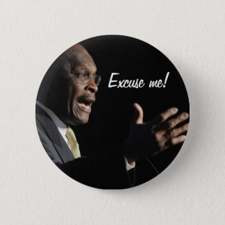 Herman Cain Button