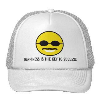"Herman Cain for President 2012 ""Smiley"" Happiness Cap"