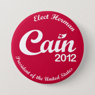 "Herman Cain for President 2012 ""Spirit"" Button R"