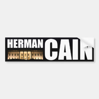Herman Cain for President Bumper Sticker