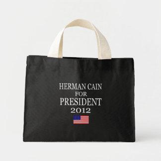 Herman Cain Tiny Tote Mini Tote Bag