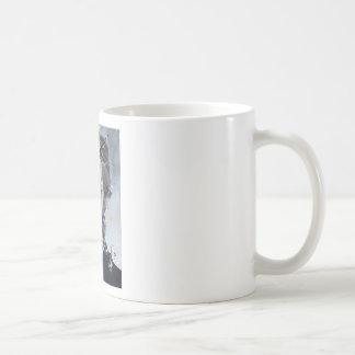 herman melville - oil portrait coffee mug