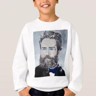 herman melville - oil portrait sweatshirt