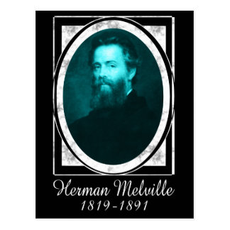 Herman Melville Postcard