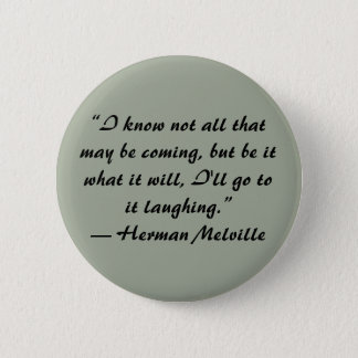 Herman Melville quote button