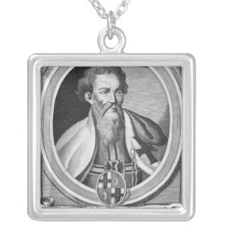 Hermann of Salza Silver Plated Necklace