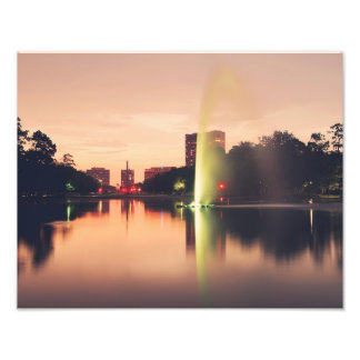 Hermann Park Fountain Photo Art