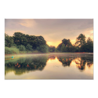 Hermann Park Mist Photo Art