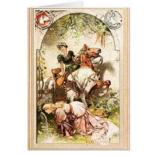 Hermann Vogel - The Goose Girl Card