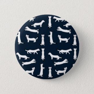 Hermelin selection 6 cm round badge