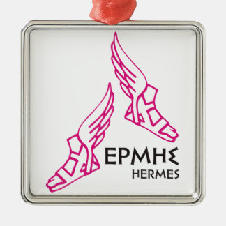 Hermes / Ermis - One of the 12 Greek Gods Metal Ornament