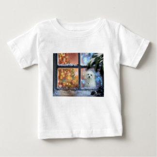 Hermes the Maltese Baby T-Shirt