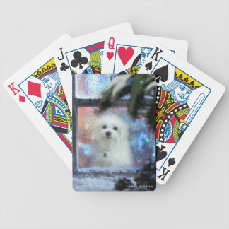 Hermes the Maltese Bicycle Playing Cards
