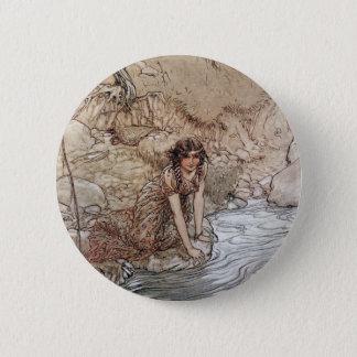 Hermia by Stream 6 Cm Round Badge