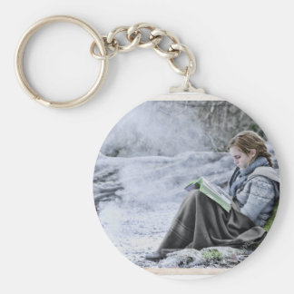 Hermione 13 basic round button key ring
