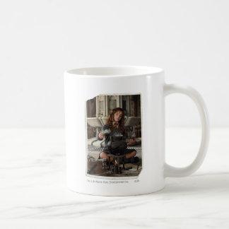 Hermione 20 classic white coffee mug