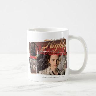 Hermione 8 classic white coffee mug