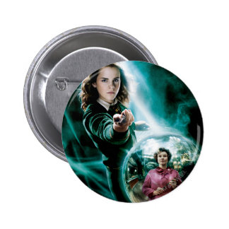 Hermione Granger and Professor Umbridge 6 Cm Round Badge
