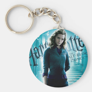 Hermione Granger Basic Round Button Key Ring