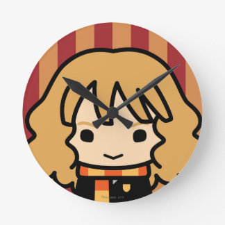Hermione Granger Cartoon Character Art Clocks