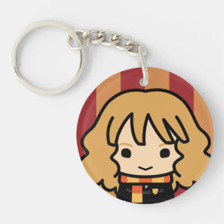 Hermione Granger Cartoon Character Art Double-Sided Round Acrylic Key Ring