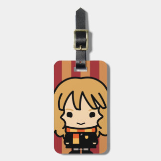 Hermione Granger Cartoon Character Art Luggage Tag