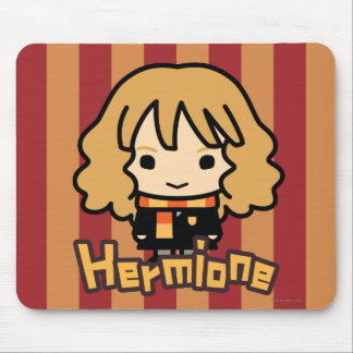 Hermione Granger Cartoon Character Art Mouse Pad