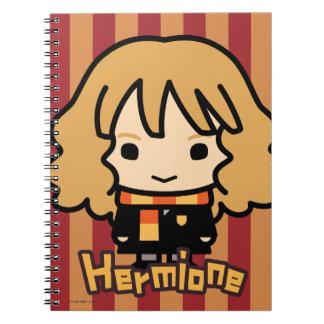 Hermione Granger Cartoon Character Art Notebooks