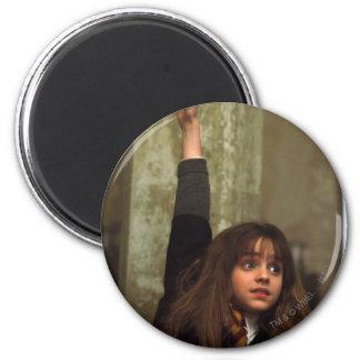 Hermione raises her hand magnet
