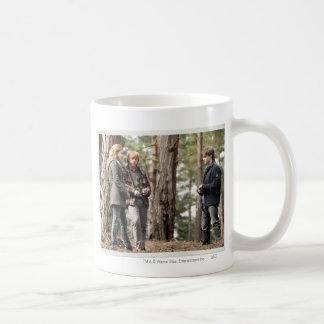 Hermione, Ron, and Harry 2 Basic White Mug