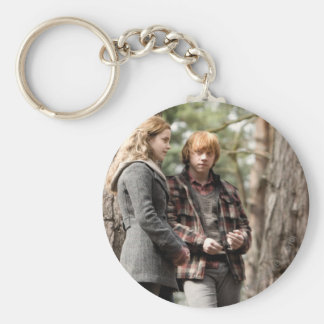 Hermione, Ron, and Harry 2 Key Ring