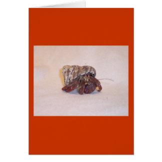 Hermit Crab #6 Card