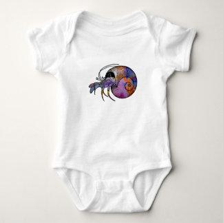 Hermit Crab Baby Bodysuit