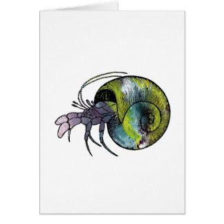 Hermit Crab Card