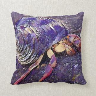 Hermit Crab Cushion