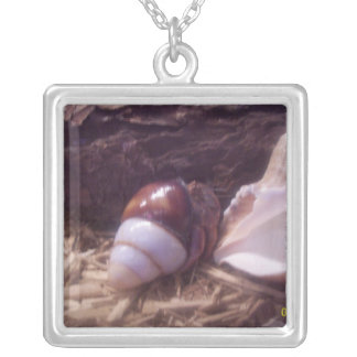 Hermit Crab Silver Plated Necklace