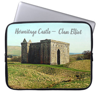 Hermitage Castle –  Clan Elliot Laptop Sleeve