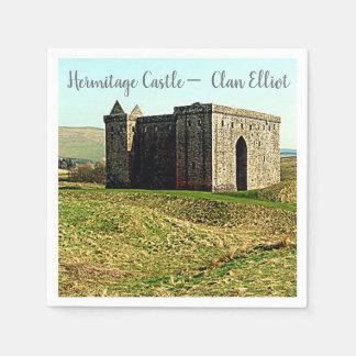 Hermitage Castle –  Clan Elliot Paper Serviettes