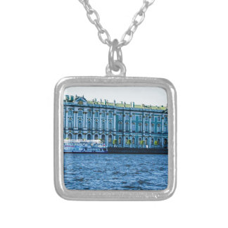 Hermitage Silver Plated Necklace
