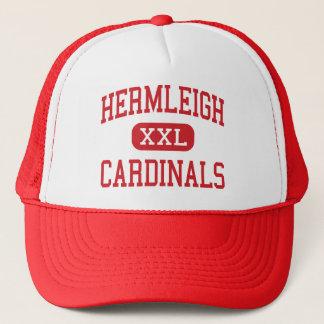 Hermleigh - Cardinals - High - Hermleigh Texas Trucker Hat